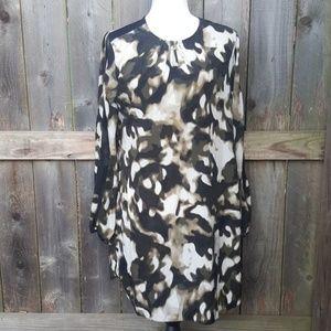 Simply Vera Vera Wang Camo Dress M